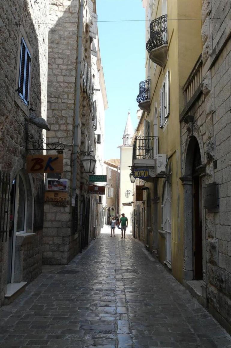 Budva ruelle du centre historique