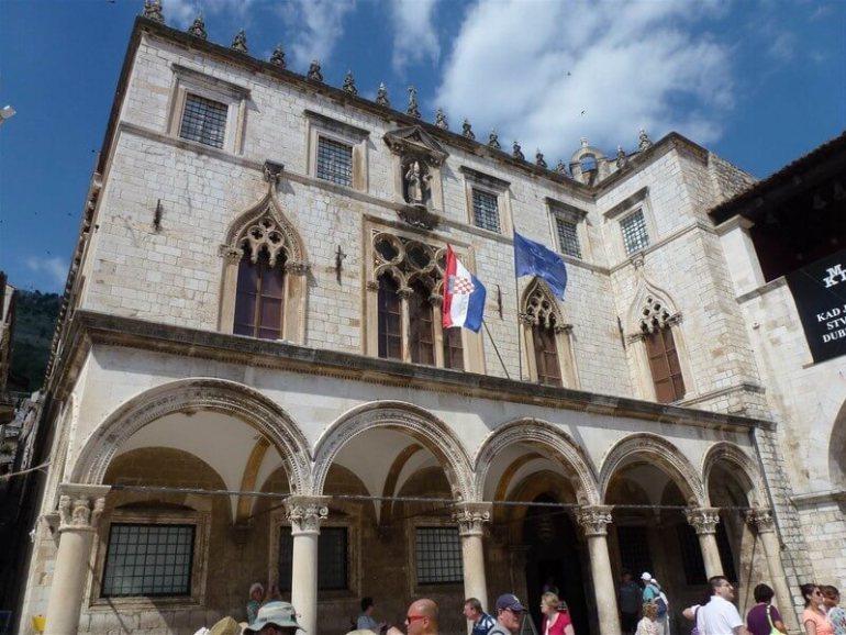 Dubrovnik Palais des recteurs