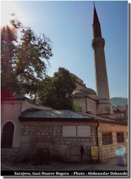 sarajevo mosquée minaret