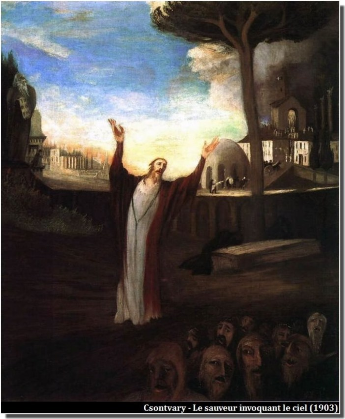 Csontvary Le Sauveur invoquand le Ciel (1903)