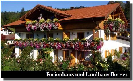 Ferienhaus und Landhaus Berger hopfen am see