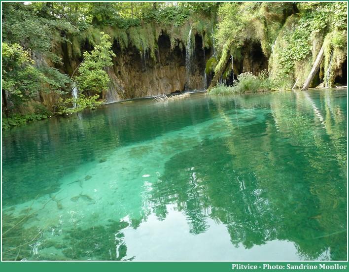 Lac et chutes de Plitvice