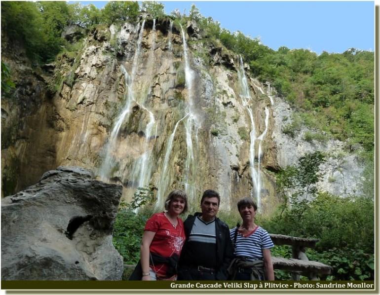 Parc de Plitvice grande Chute