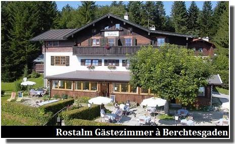 Rostalm Gästezimmer Berchtesgaden