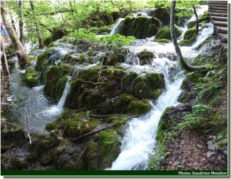 cascades au parc de Plitvice