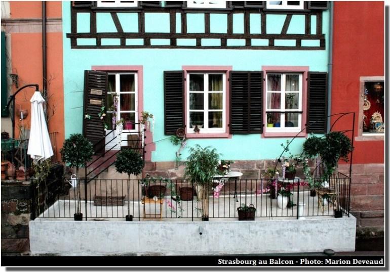 Balcon a Strasbourg