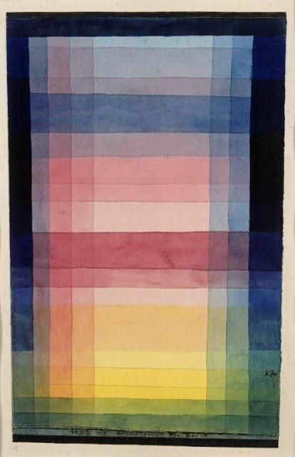 Paul Klee Architektur der Ebene
