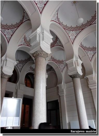 Sarajevo plafonds de la mairie