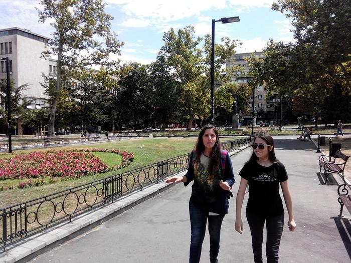 balade jardins à belgrade