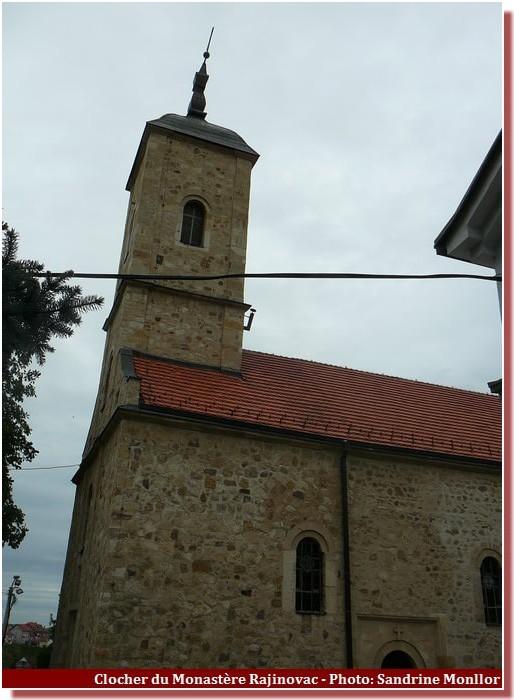 Clocher du Monastere Rajinovac