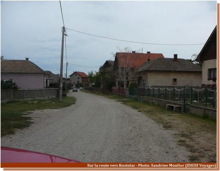 Route vers Kostolac