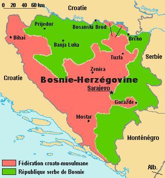 carte republique serbe de bosnie