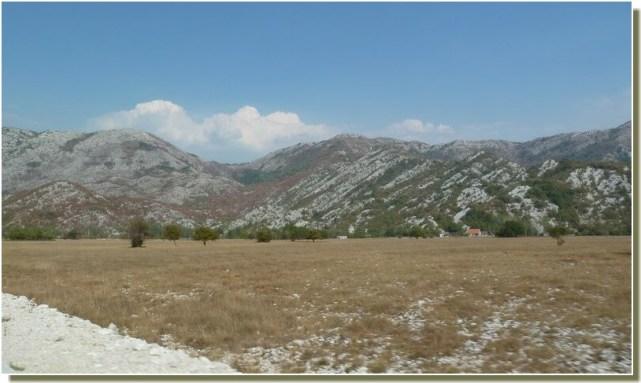 Paysage de république serbe de Bosnie méridionale