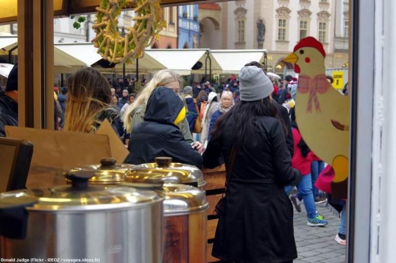 Marché de Pâques à Prague