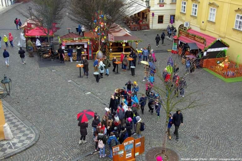 Prague à Pâques animations de rue
