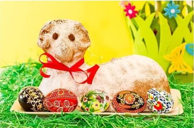 mazanec beranek de Paques gateau agneau pascal tcheque