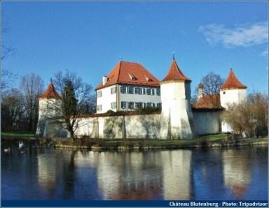Chateau Blutenburg en Bavière près de Munich