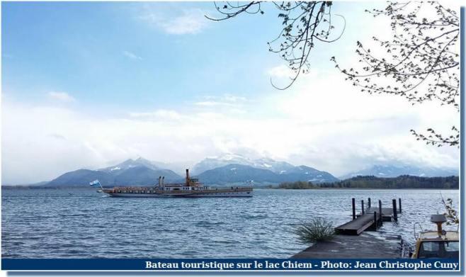Chiemsee Bateau touristique sur le lac Chiem