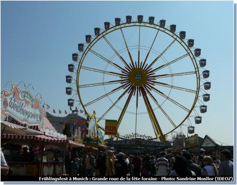 Munchener Fruhlingsfest Grande roue