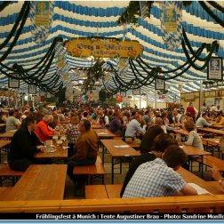 Tente Augustiner Brau Munich Fruelingsfest