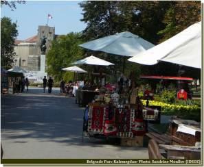 Belgrade souvenirs à la Forteresse Kalemegdan