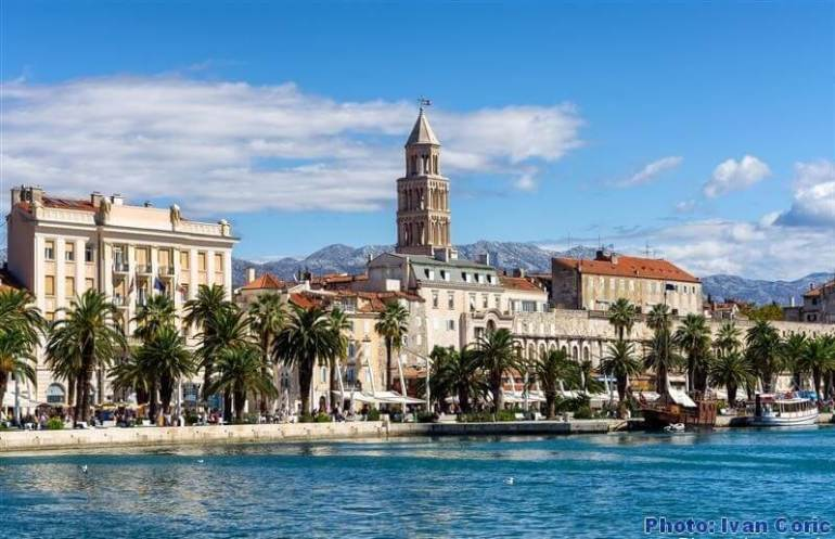 Split riva promenade maritime