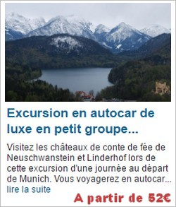 excursion en car de luxe a neuschwanstein en petit groupe