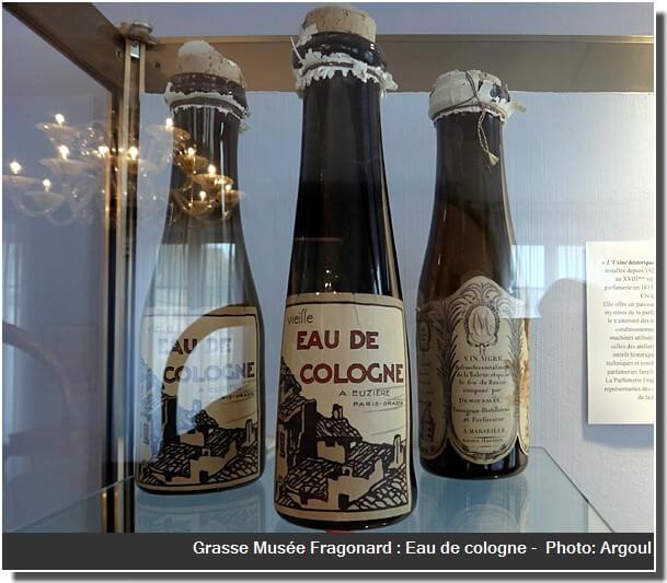Grasse Musée Fragonard eau de cologne