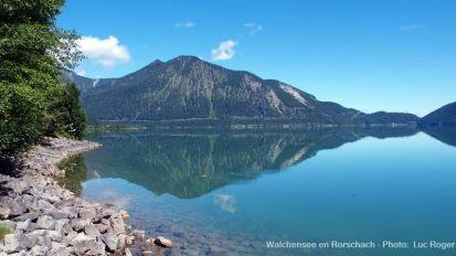 bords du lac Walchensee en Rorschach