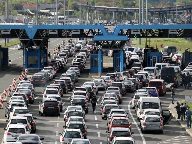 croatia slovenia borders embouteillages et controles aux douanes croatie slovénie