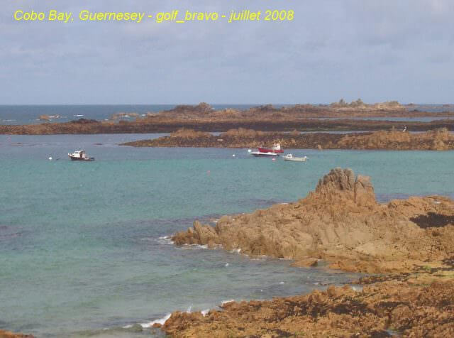 Guernesey Cobo bay