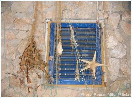Kornati cabane de pêcheur