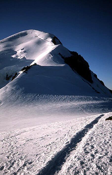 Mont Blanc en juillet Col Vallot