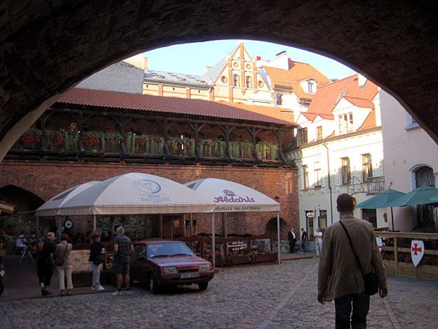 Premiers pas à Riga en Lettonie