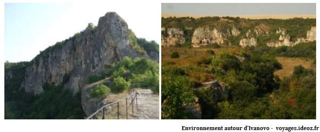 Environnement autour du monastère Ivanovo