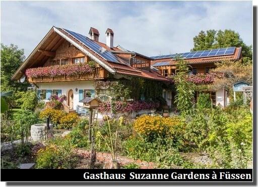 Gasthaus BB Suzanne and gardens à Füssen