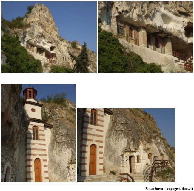 Monastère Basarbovo en Bulgarie
