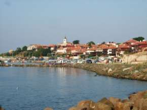 Nesebar en Bulgarie sur la mer noire