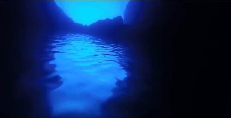 grotte bleue Bisevo Modra Spilja
