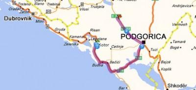 ostrog depuis Kotor