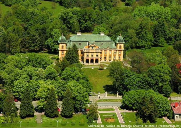 Chateau de Nasice en Croatie orientale