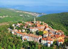 Labin village en Istrie