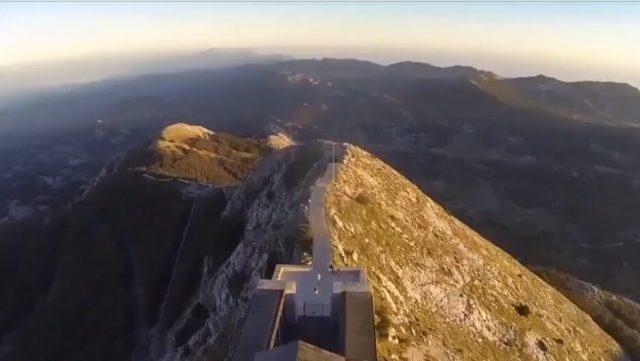 Mausolée Lovcen au Montenegro