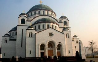 Temple Saint sava Belgrade