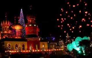 Marché de Noel du Parc Tivoli Copenhague
