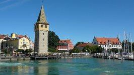 Port de Lindau sur le lac Bodensee