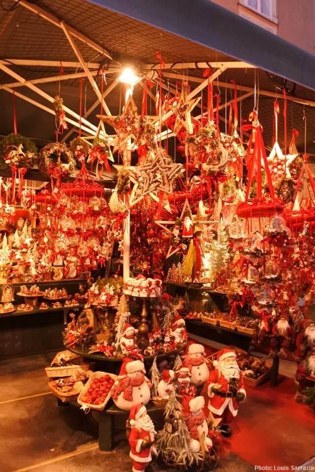 salzburger christkindlmarkt decorations sur le marché de noel