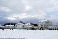 Chateau Nymphenburg en hiver Munich
