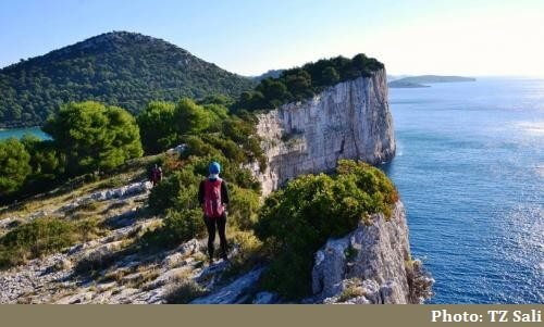 Dugi otok trail stijene