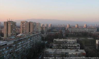 Novi Zagreb blocs de la période communiste